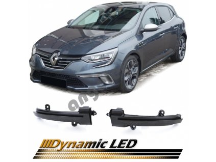 Dynamické led smerovky pre Renault Megan 4