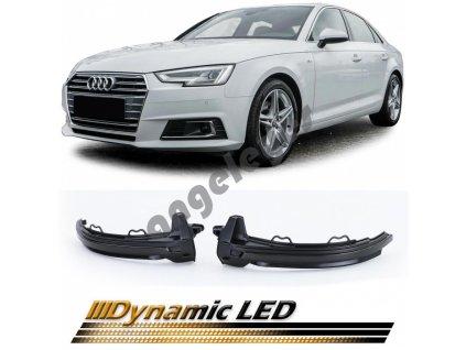 Dynamické led smerovky pre Audi A4 B9