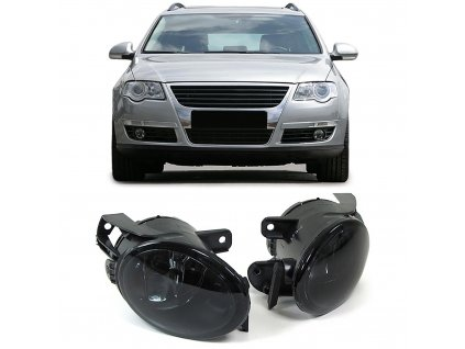 Hmlovky čierne dymové HB4 pre VW Passat 3C rv. 2005-2010