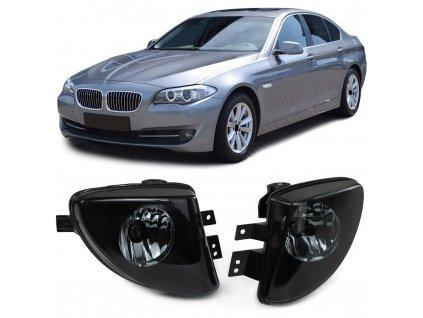 Hmlovky zatmavené pre BMW 5 F07, F10, F11 rv. 2010-2013