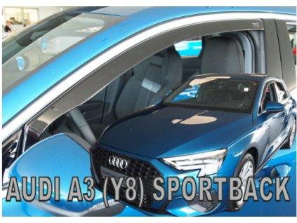 Deflektory na okná pre Audi A3 8Y Sportback 5D 2020-, 4ks