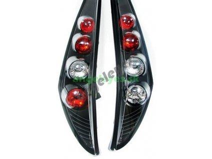 Fiat Punto 2 zadné svetlá čierne