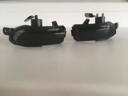 Bočné LED smerovky do spätných zrkadiel pre Škoda Fabia, Rapid