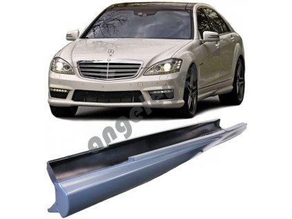 Bočné prahy AMG pre Mercedes W221 krátka verzia