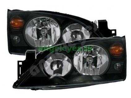 Ford Mondeo predné čierne svetlá, rv. 00-07