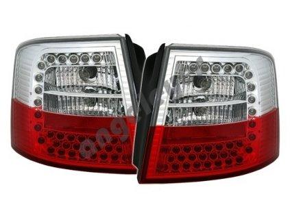 Audi A6 Avant zadné s LED červeno-biele