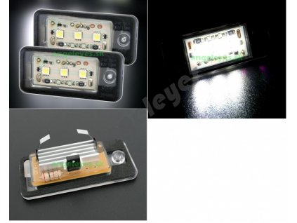 LED osvetlenie ŠPZ Audi