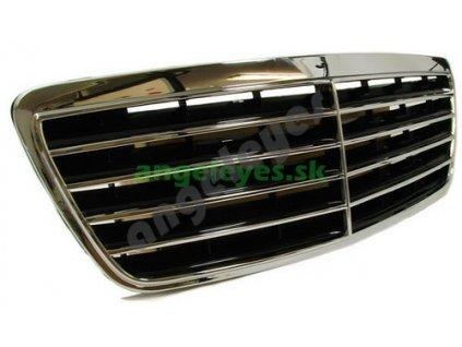 Mercedes E W210 predná maska aj s okrajmi, rv. 7/99-02