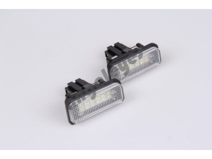 LED osvetlenie ŠPZ pre Mercedes S203 kombi, W211