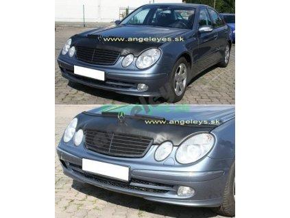 Mercedes E W211 kožený kryt kapoty, rv. 02-06