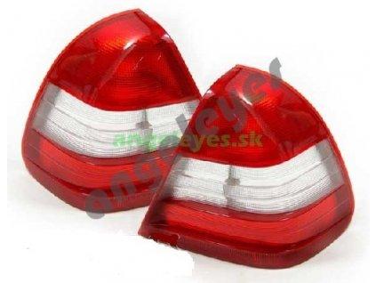 C W202 zadné červeno biele