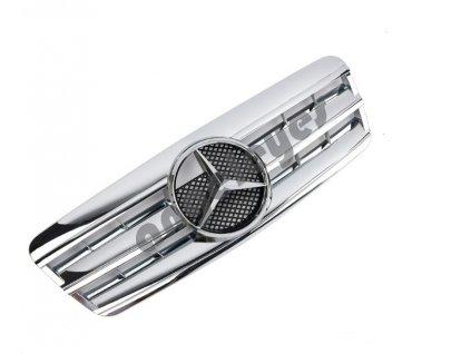Mercedes CLK W208 predná maska chrómová