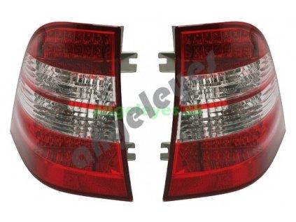MB W163 rv. 98-05 zadné LED svetlá červeno-biele
