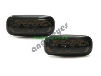 Audi A4 bočné LED smerovky čierne