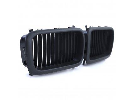 Športová čierna predná maska BMW E38