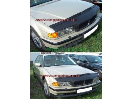 BMW E38 kožený kryt kapoty, rv. 98-01