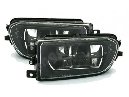 BMW E39 čierne hmlovky, pár