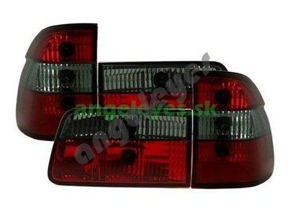 BMW E39 Touring zadné červeno - čierne svetlá