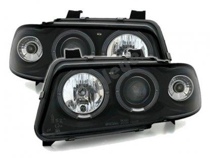 Audi A4 94-98 predné čierne svetlá aj so žiarovkami