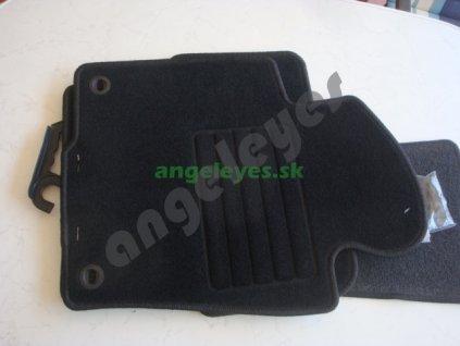 Čierne koberce VW Passat 3C