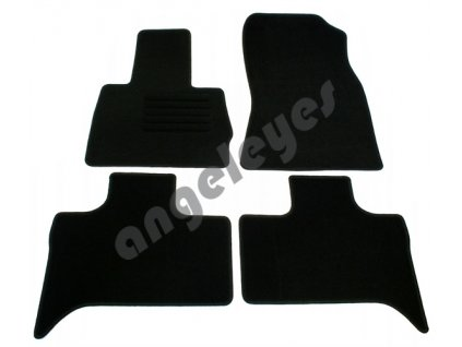 BMW X5 čierne koberce rv. 06/00 - 02/07