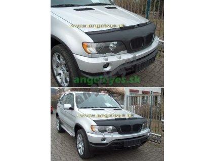 BMW X5 E53 SUV kožený kryt kapoty, 99-06