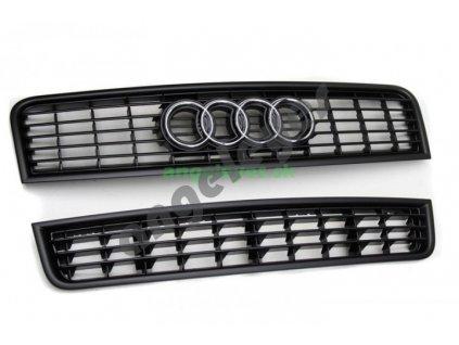 Audi A4 B6 čierna maska originál Audi set