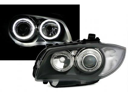 Predné svetlá Angel Eyes s parkovacími krúžkami pre BMW E87...