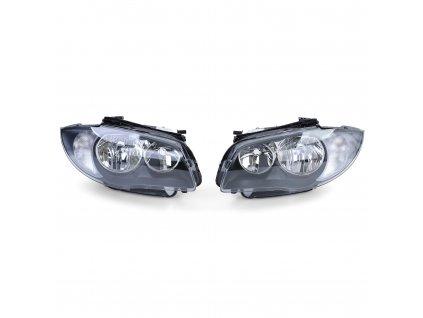 Predné čierne svetlá pre BMW E87