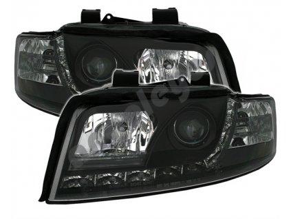 Audi A4 00-04 Devil Eyes čierne