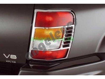 Jeep Grand Cherokee WJ chrómová mriežka na zadné svetlá, rv....