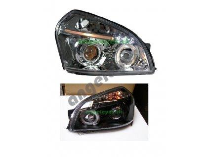 Hyundai Tucson predné svetlá Angel Eyes čierne