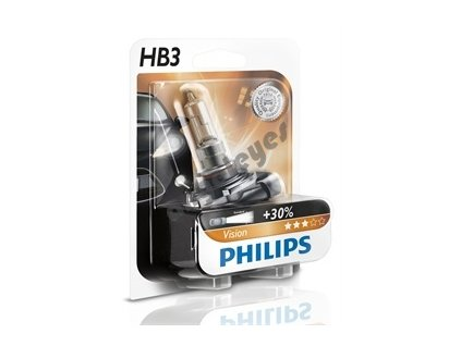 Žiarovky Philips HB3 Vision, 2 kusy