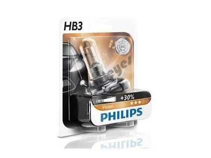 Žiarovky Philips HB3 Vision, 2 kusy