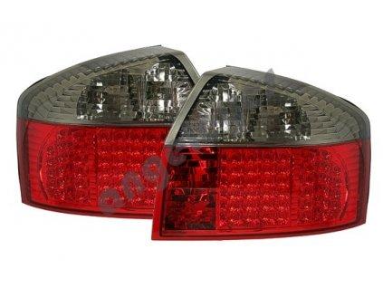 A4 00-04 limuzína zadné LED červeno-čierne