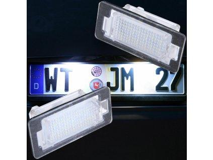 BMW LED osvetlenie ŠPZ verzia 2