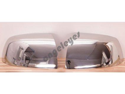 Nerezové kryty zrkadiel Ford Focus MK2 rv.04-08, C Max...