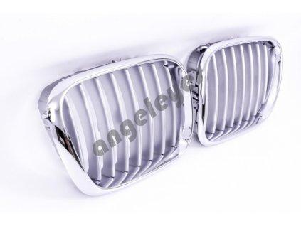 Predná maska BMW X5 E53 rv.99-03 celochrómová