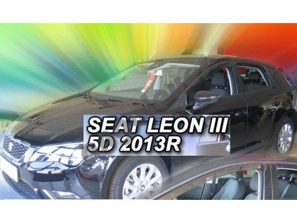 Deflektory na okná pre Seat Leon 3 5F rv. 2012-2020, 4ks