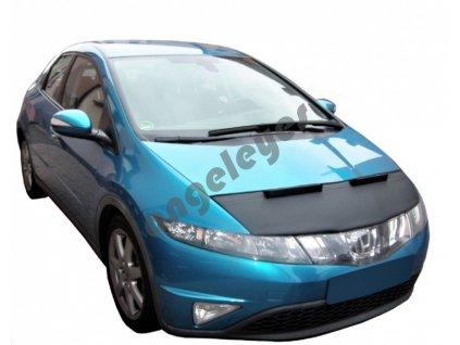 Honda Civic kožený kryt kapoty
