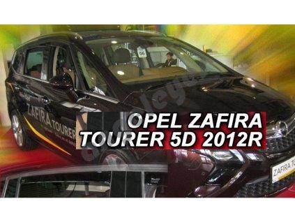Deflektory na okná pre Opel Zafira C Tourer rv. 2012 -, 4ks
