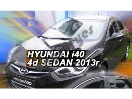 Deflektory na okná pre Hyundai i40 rv. 2011 -, 4ks