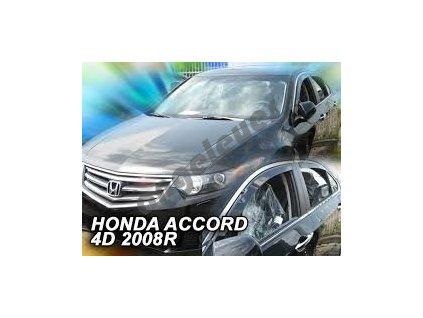 Deflektory na okná pre Honda Accord 8 rv. 2008-, 4ks