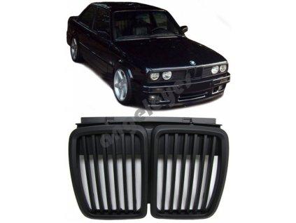 BMW E30 predná čierna maska