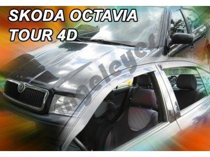 Deflektory na okná pre Škoda Octavia 1 sedan, 4ks