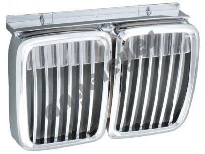 BMW E30 predná chrómová maska