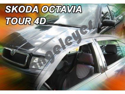 Deflektory na okná pre Škoda Octavia 1 kombi, 4ks