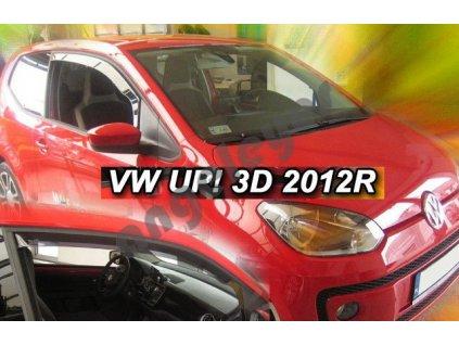 Deflektory na okná pre VW UP 3dv., rv. od 2012, 2ks