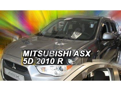 Deflektory na okná pre Mitsubishi ASX, 2ks