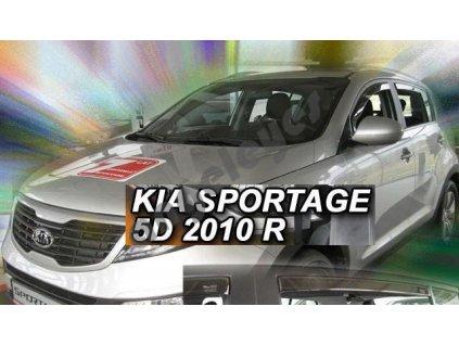 Deflektory na okná pre Kia Sportage (4ks) 2010-2015